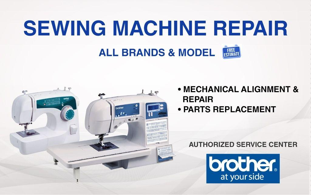 SST Repair Specialist SEWING MACHINE REPAIR Awesome Sewing Machine Service Center